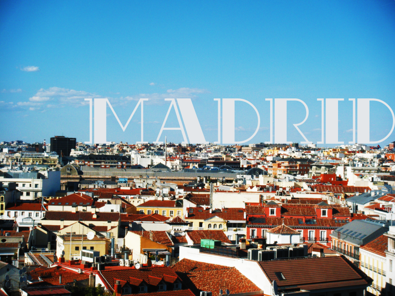 Madrid-Postcard