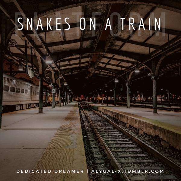 Snakes-Train-Platform